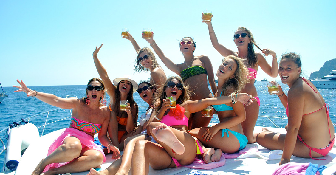 Party on Yacht
